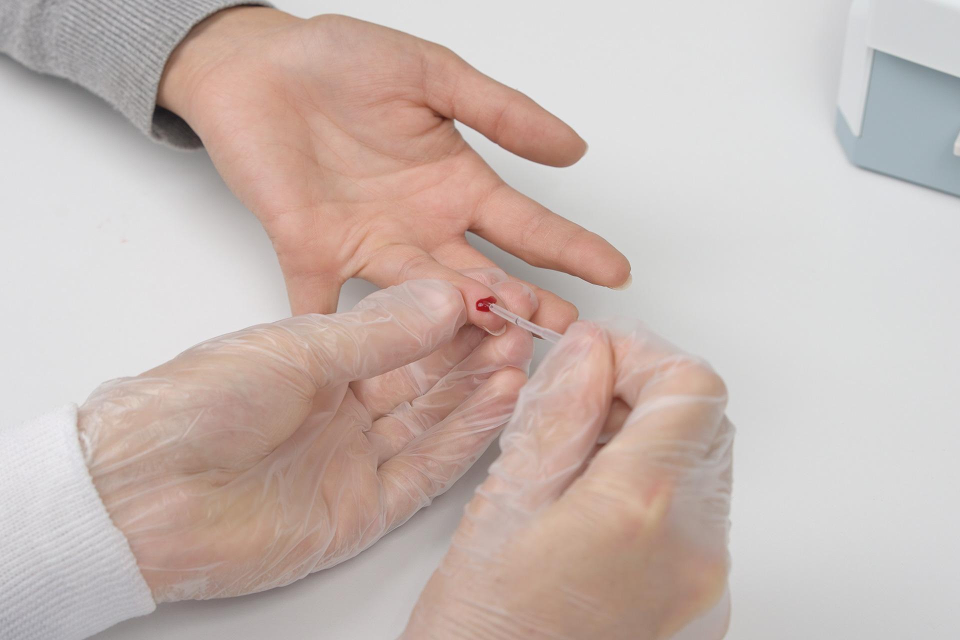 bm Finecare Blut aufnehmen 2.3.1